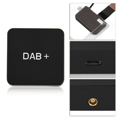 dab digital radio box mcx amplified antenna for android 5. Black Bedroom Furniture Sets. Home Design Ideas