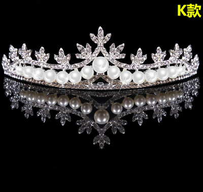 Bridal Tiara Rhinestone Head Pieces Crystal Bridal Headbands Hair Accessories