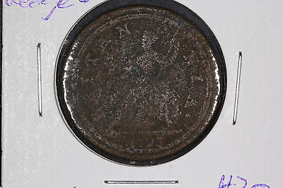 1723 Halfpenny Great Britain - George I - Spink# 3660