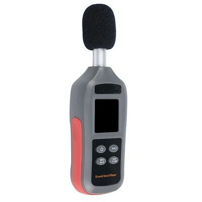 Digital Schallpegelmesser Noise Decibel 35-135dB Measure Temperature Tester ED