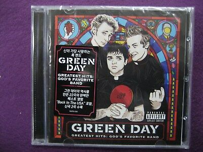 Green Day / Greatest Hits : God's Favorite Band CD NEW SEALED