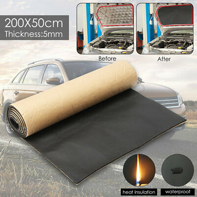 5mm Self Adhesive Car Sound Proofing Deadener Insulation Roll Closed Cell Foam