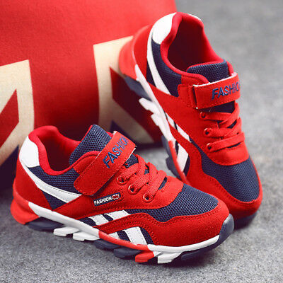 Children Kids Boys Blade Base Mesh Running Shoes Sports Casual Jogger Size 26-39