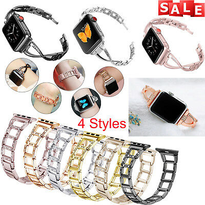 For Apple Watch Strap Band 38/42mm Stainless Steel Bracelet Wrist Series 1/2/3