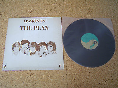Osmonds ~ The Plan/ Japan LP/ Sheet Gatefold Donny Osmond