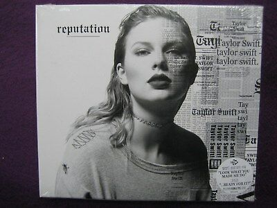 Taylor Swift / reputation (STANDARD VERSION) CD NEW SEALED