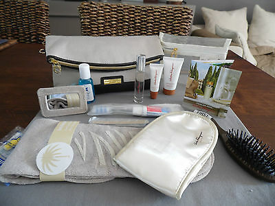 SAUDIA First Class FERRAGAMO Ladies' Amenity Kit Trousse Neceser Kulturbeutel