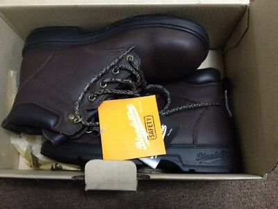 New BLUNDSTONE 382 Women's Safety Boots Size 10 AUS/UK