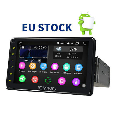 EU Stock Single Din Autoradio Bluetooth Touchscreen GPS USB SD MP3 FM OBD2 DAB+