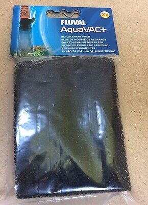 FLUVAL AQUAVAC+ 2 REPLACEMENT FOAM FILTERS for Water Changer & Gravel Cleaner