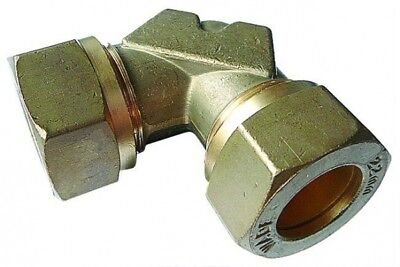 WA-ME122 Wade Brass Equal Elbow Tube OD 22mm