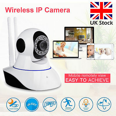 Digital Wireless Baby Room Monitor Camera Night Security Wifi Vision HD Video UK
