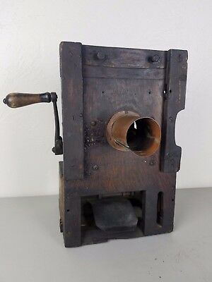 Thomas Edison Projecting Kinetoscope Early Exhibition Projector