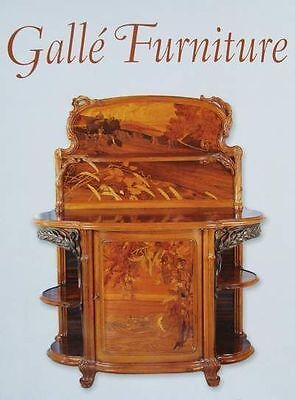 BOEK/BOOK/LIVRE/BUCH : GALLÉ FURNITURE/MEUBLE/MEUBEL (chair/chaise,table,bureau)