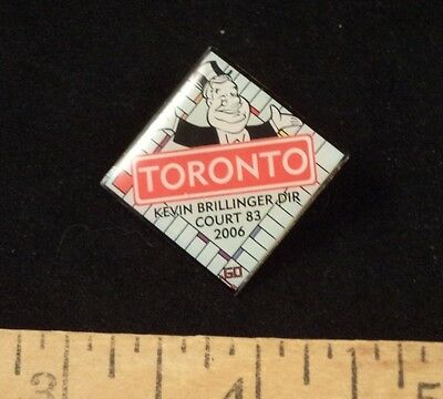 Royal Order of Jesters Pin Billiken Toronto Monopoly Game Board Court 83