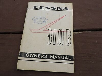 Cessna 310 service manual array cessna 310 b owners manual p 139a 13 a d 500 8 63 aircraft rh fandeluxe Gallery