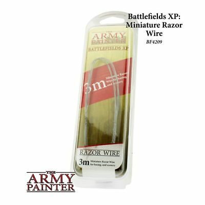 Modellbau Stacheldraht ca. 3m Army Painter BF4209 Razorwire for Base Diorama