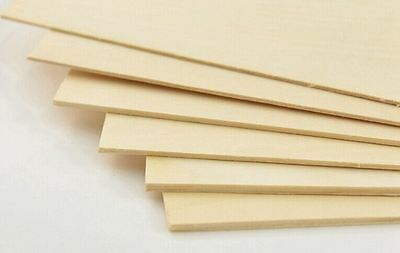200x300mm Basswood Plywood Sheet Board DIY Ship Plane Models Crafts Pyrography