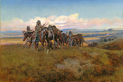 Remington Frederic In the Enemy Country Giclee Canvas Print