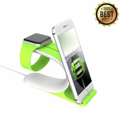 Apple Watch Stand, LOCA Mobius 2-in-1 Smart Watch Charging Holder for Apple Watc