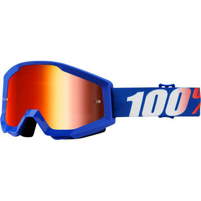 100% Prozent Strata Cross Crossbrille MX Enduro Motocross Brille Nation