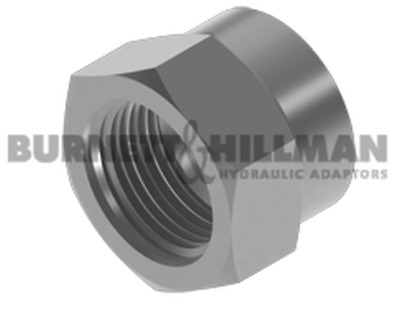 Burnett & Hillman BSP Crimp Nut Hydraulic Fitting