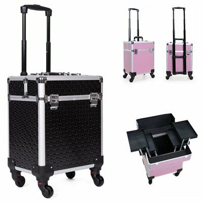 Beauty Case Trolley Valigia Valigetta Trucchi Make Up Nail Art Professionale DE