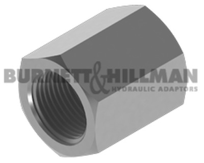 Burnett & Hillman Hydraulic BSP Fixed Female x BSP Fixed Female Adaptor | 4-29