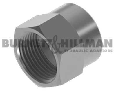 Burnett & Hillman JIC Crimp Nut Hydraulic Fitting