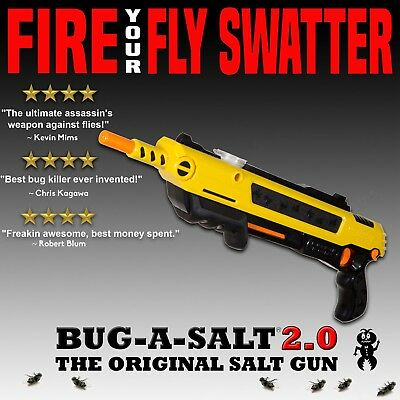 Gun Fly Swatter BUG-A-SALT Red Dot Mount Scope Mount Insect Home Pest Control