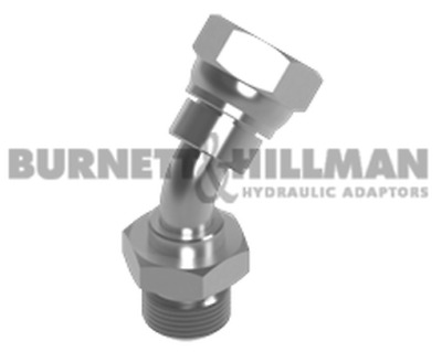Burnett & Hillman BSP Male x BSP Swivel Female 135° Swept Elbow Fitting