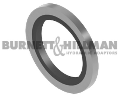 Burnett & Hillman METRIC Self Centering Bonded Seal Hydraulic Fitting