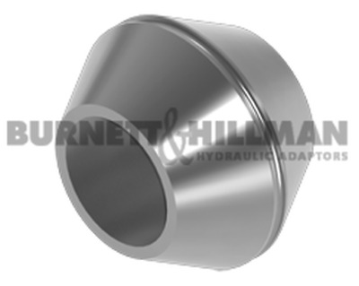 Burnett & Hillman JIS Adaptors / 60° Double Cones For METRIC Ends