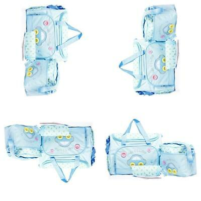 4Pcs Baby nappy changing bag set Brand New Cute diaper bags Colorful UK