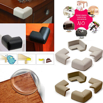 4Pcs Baby Safety Corner Cushions Desk Table Cover Protector Safe for Baby Kids
