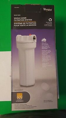New in Box Whirlpool WHKF-DWH Whole Home Filtration System With Housing Wrench