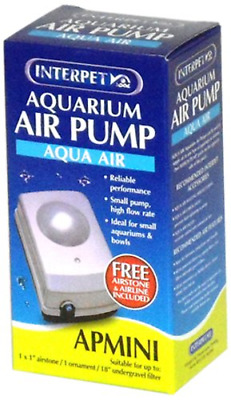 Interpet Aqua Air Aquarium Air Pump – AP Mini