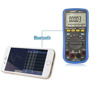 OWON Digital Multimeter B41T+ True RMS Bluetooth offline data record function BP