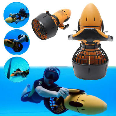300W Electric Sea Scooter Underwater Pro Waterproof Dual Speed SafetyProp/6kmh