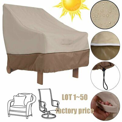 2017 Outdoor Waterproof High Back Patio Chair Table Furniture Cover Protector VP
