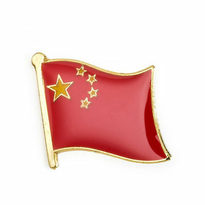 CHINA FLAG Enamel Pin Badge Lapel Brooch Fashion Gift Jewellery Chinese PN26