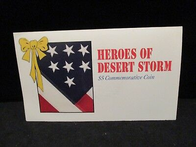 1991 Heroes of Desert Storm $5 Commemorative Coin - Marshall Islands