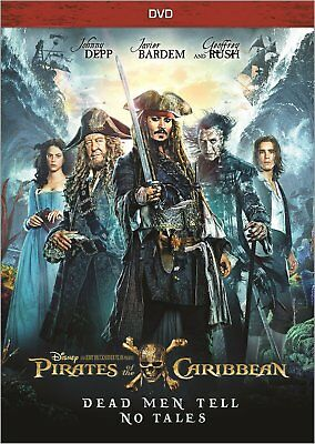 Pirates of the Caribbean: Dead Men Tell No Tales (DVD, 2017)