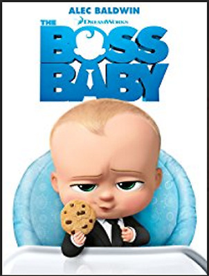 The Boss Baby (DVD, 2017) Alec Baldwin SHIPS IN 1 BUSINESS DAY WITH TRACKING