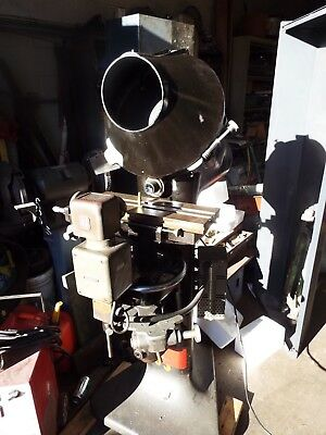 "Jones & Lamson / J&L 14"" Optical Comparators 10X Lens, model PC-14"
