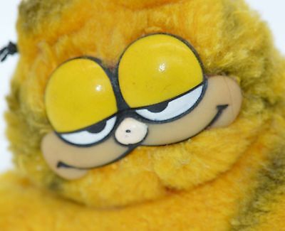 Vintage GARFIELD Plush 1981 by United Feature Syndicate Toy Stuffed Animal Mini