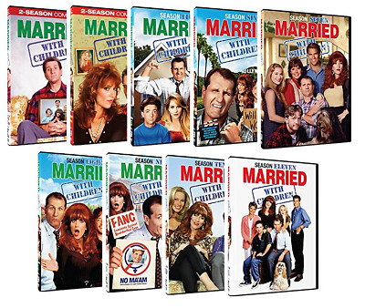 Married With Children: Complete Series Seasons 1 2 3 4 5 6 7 8 9 10 11 - New!!