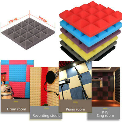 Acoustic Foam Panel Sound Stop Absorption Sponge Studio KTV Soundproof New Hoc
