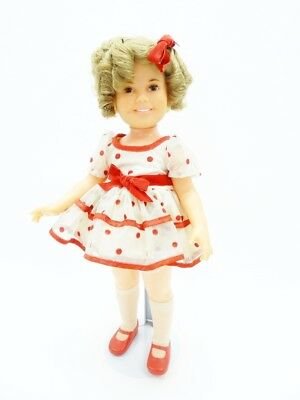"""Vintage Ideal 1972 Shirley Temple Stand Up & Cheer 16"""" Doll"""