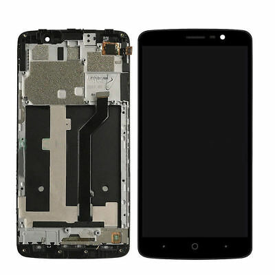 "For ZTE MAX XL N9560 6.0"" Assembly LCD Display Touch Screen Digitizer + Frame QC"